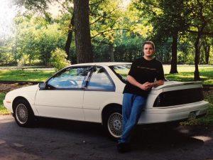 Cory's original white 1991 GT